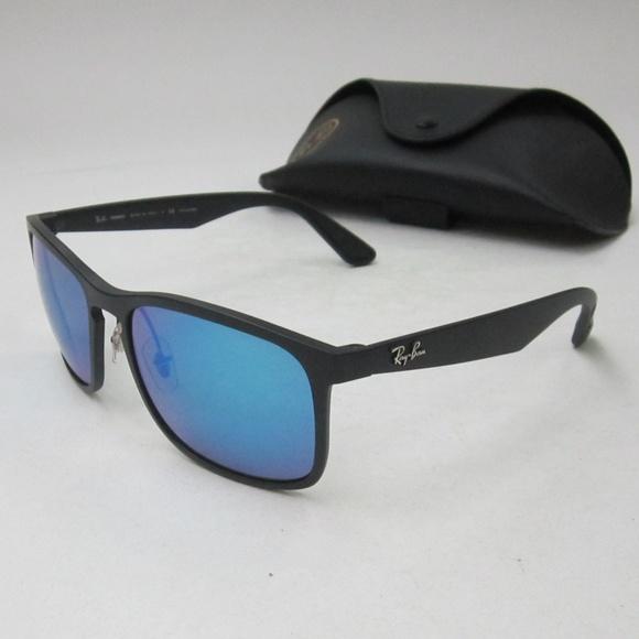 8dfec14861 RayBan RB4264 CHROMANCE Men s Sunglasses OLN269. M 5b578b467386bc837c261fb8